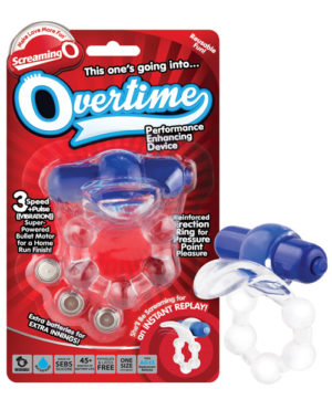 Screaming O The Overtime – Blue