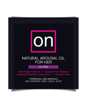 On For Her Arousal Oil Ultra – Single Use Ampoule