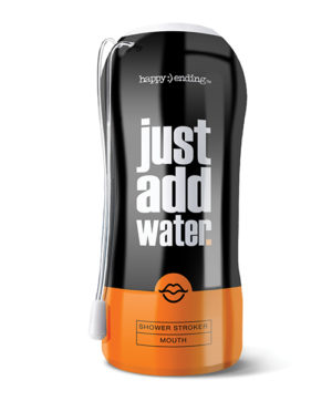Just Add Water Shower Mouth – Tan